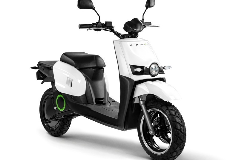 Electric Moped Scooter >> Scutum S02 - TRANKVILE electric vehicles