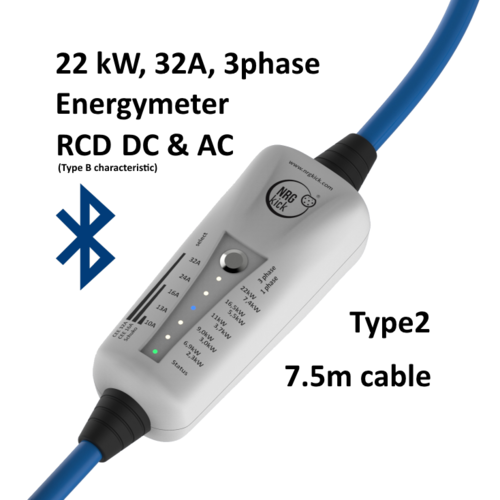 NRGkick RCD (DC & AC), 3phases, Bluetooth